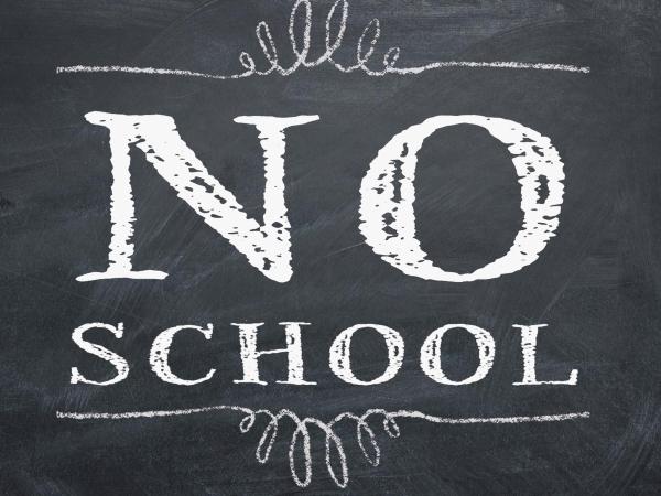 Christmas Break- No School