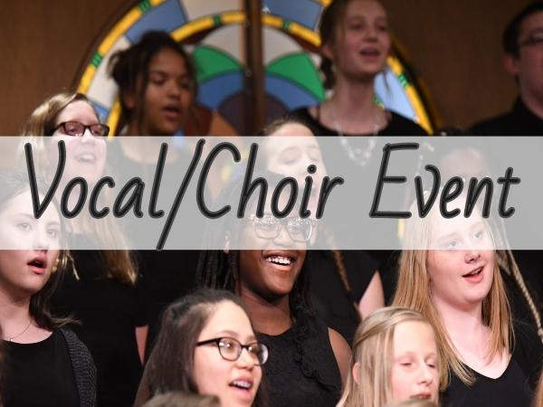 IHSMA Class 1A High School Band & Choir Large Group (Evening)