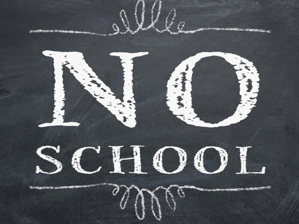 NO SCHOOL FOR HIGH SCHOOL (elementary & MS regular school day)