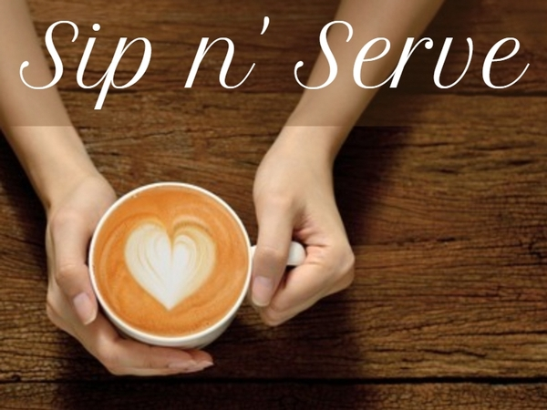 Sip n' Serve & Bible Study