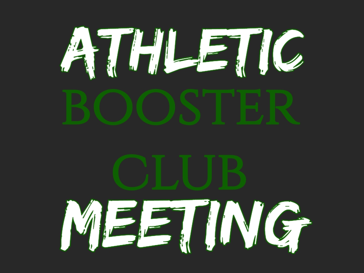Athletic Boosters Meeting- Rm 220 High School