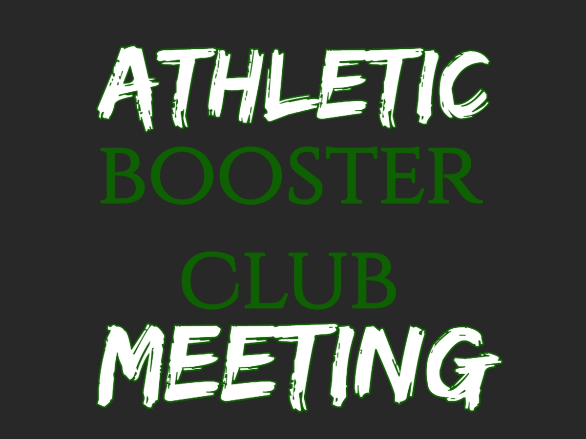 Athletic Booster Meeting- AD office (high school)