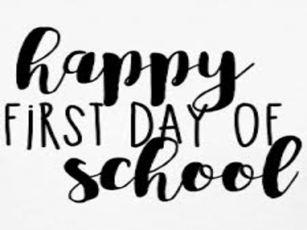 First Day of School 2021-2022 School Year!