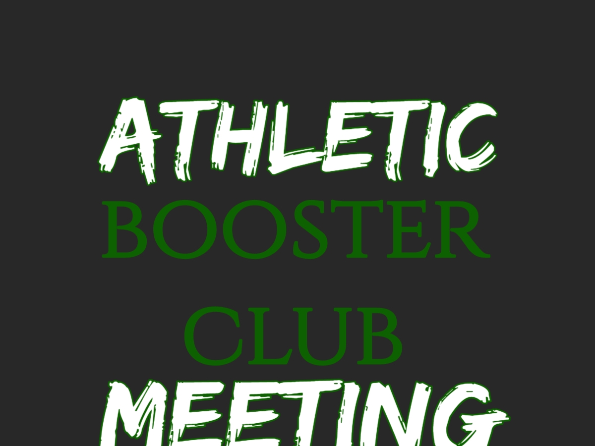 Athletic Booster Meeting- HS