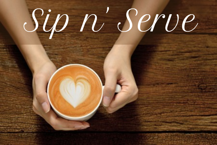 Sip n' Serve- all are welcome (elementary)