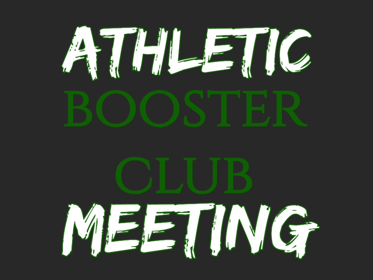 Athletic Boosters Meeting- Rm 224 High School